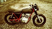 1978 Yamaha XS400 2E Custom Cafe Racer/Tracker Motorcycle