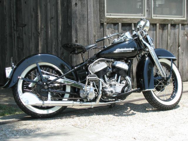 1951 Harley Davidson Wl 45ci
