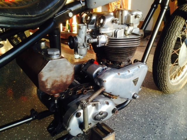 1961 Triumph Pre  Bonneville 650cc