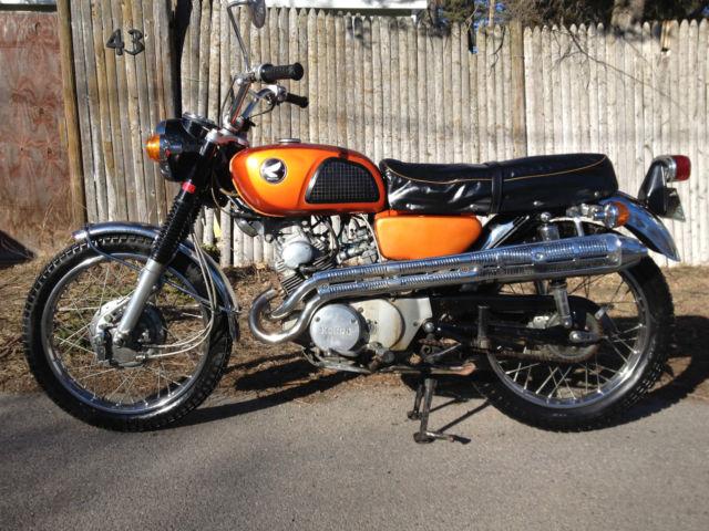 1968 Honda Scrambler cl175 12kmi all origial cl 175 and ...