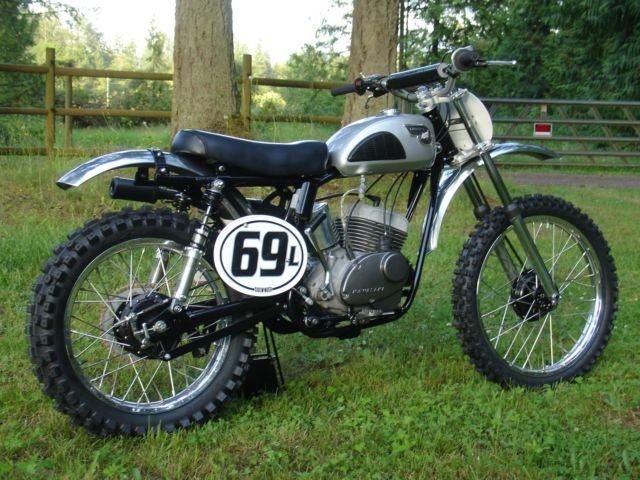 1968 Kawasaki F21m Custom Vintage Mx Ahrma 238