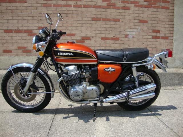 1973 Honda Cb750 K3 Original 13k Miles Survivor Flake