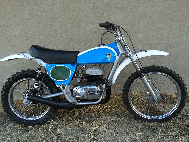 1974 Bultaco Pursang Model 120 Mk 7 Jim Pomeroy Edition Ahrma
