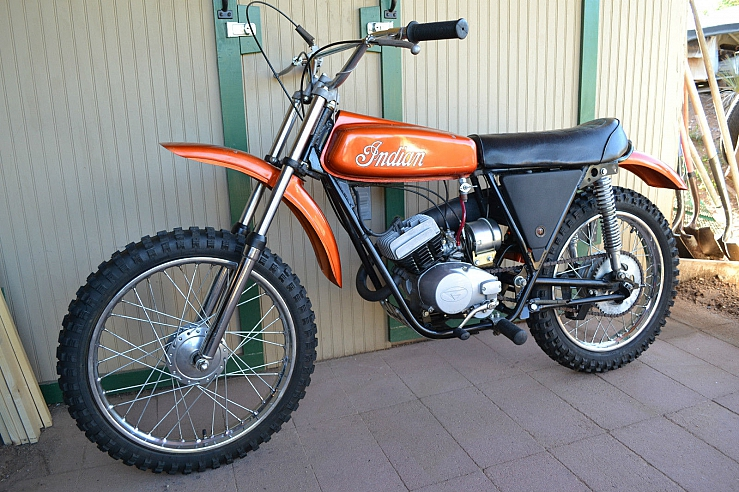 1974 Indian MI 100 Dirt Bike, Indian 100cc MX