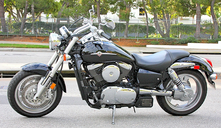 2007 Kawasaki Vulcan 1600 Mean Streak One Owner Clean Title