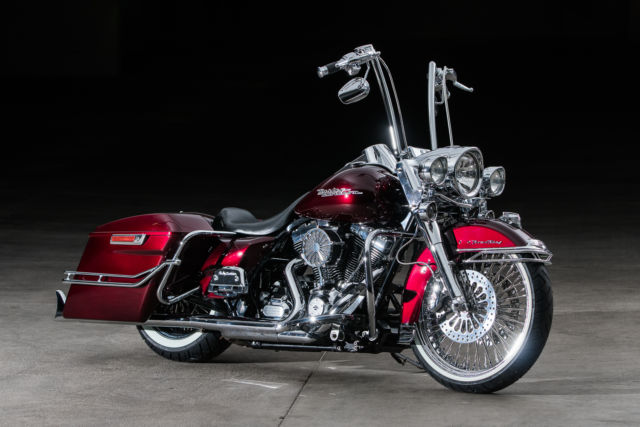 2011 Custom Road King Cholo Style Touring Bagger Candy