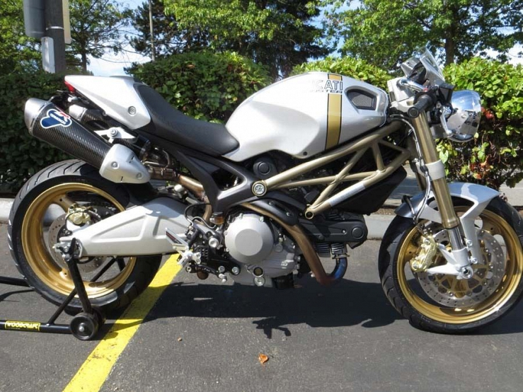 Buy 2013 Ducati Monster 696 20th Anniversary Edition on