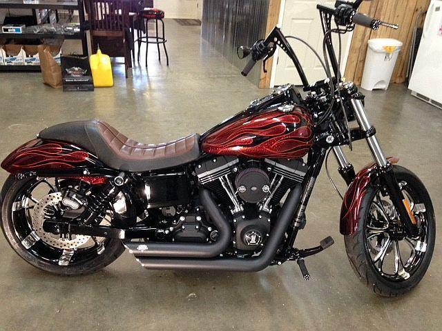 2013 Harley Davidson Dyna Street Bob Fxdb Custom
