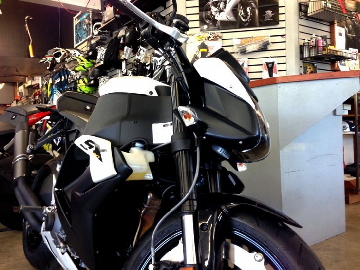 Erik Buell Racing 1190 RRB Typhon Streetfighter Prototype