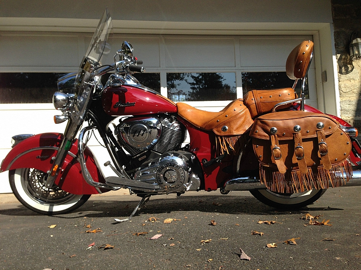 2014 Indian Chief Vintage Motorcycle Mint Condition