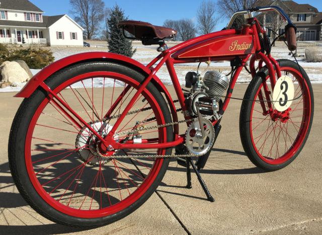 Board Track Racer Vintage Motorcycle Replica Indian