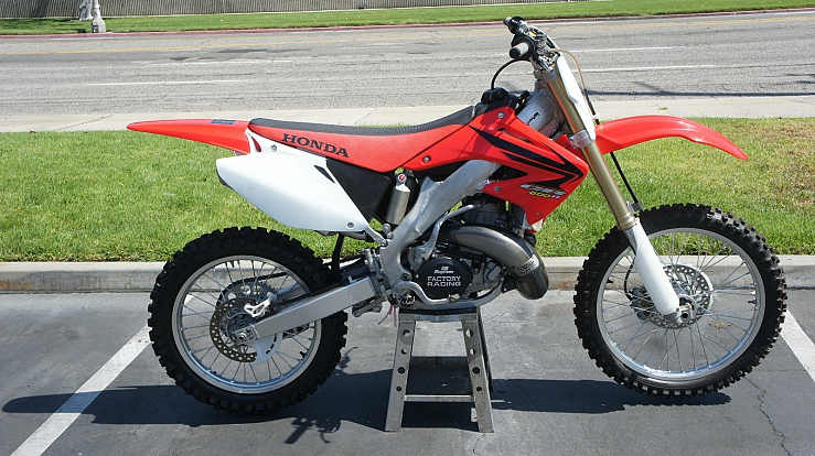 cr500 cr500r aluminum frame conversion honda just completed not ...