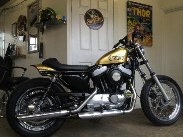 Harley Davidson sportster bobber chop chopper hot rod