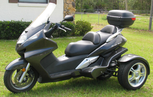 honda 600cc silverwing scooter with danson trike kit. Black Bedroom Furniture Sets. Home Design Ideas