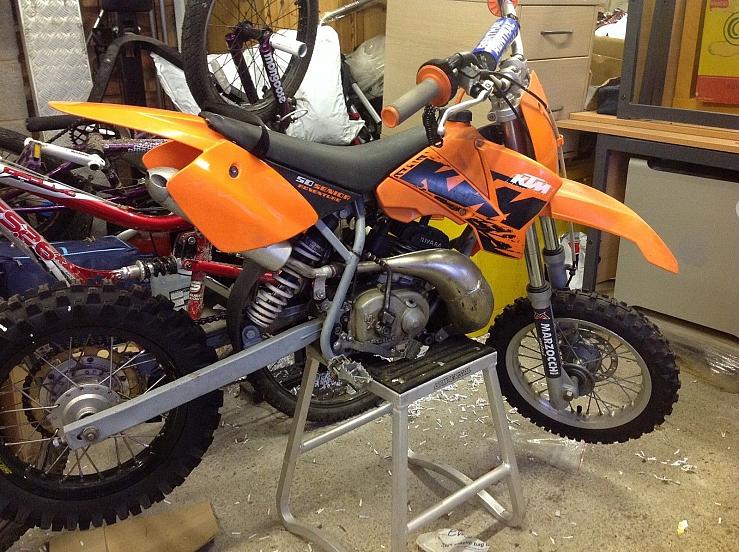 Ktm 50cc Senior Adventure Rivara Race Tuned Engine