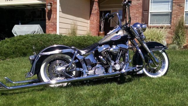 Lowrider Harley Davidson Heritage Softail Flstn Cholo