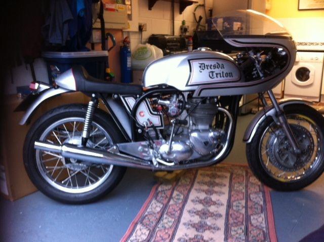 Norton Triumph Dresda Triton Motorcycle