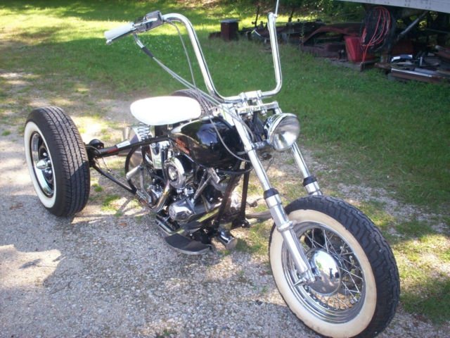 old school bobber trike custom. Black Bedroom Furniture Sets. Home Design Ideas