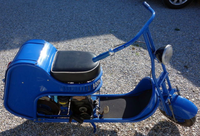 Motor Vehicle Bill Of Sale >> RARE 1940'S AMERICAN MOTO SCOOT SCOOTER VERY NICE W/KICK ...