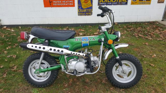 Restored Honda Ct Trail Mini Bike Resto Mod Speed No Reserve on Honda Mini Trail Bike