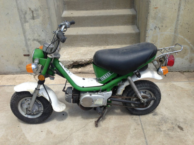 Spin Bikes For Sale >> Yamaha LB80 Chappy Mini Bike, Green