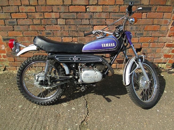 Yamaha lt2 100cc 1972 restoration project runs well for 100cc yamaha dirt bike