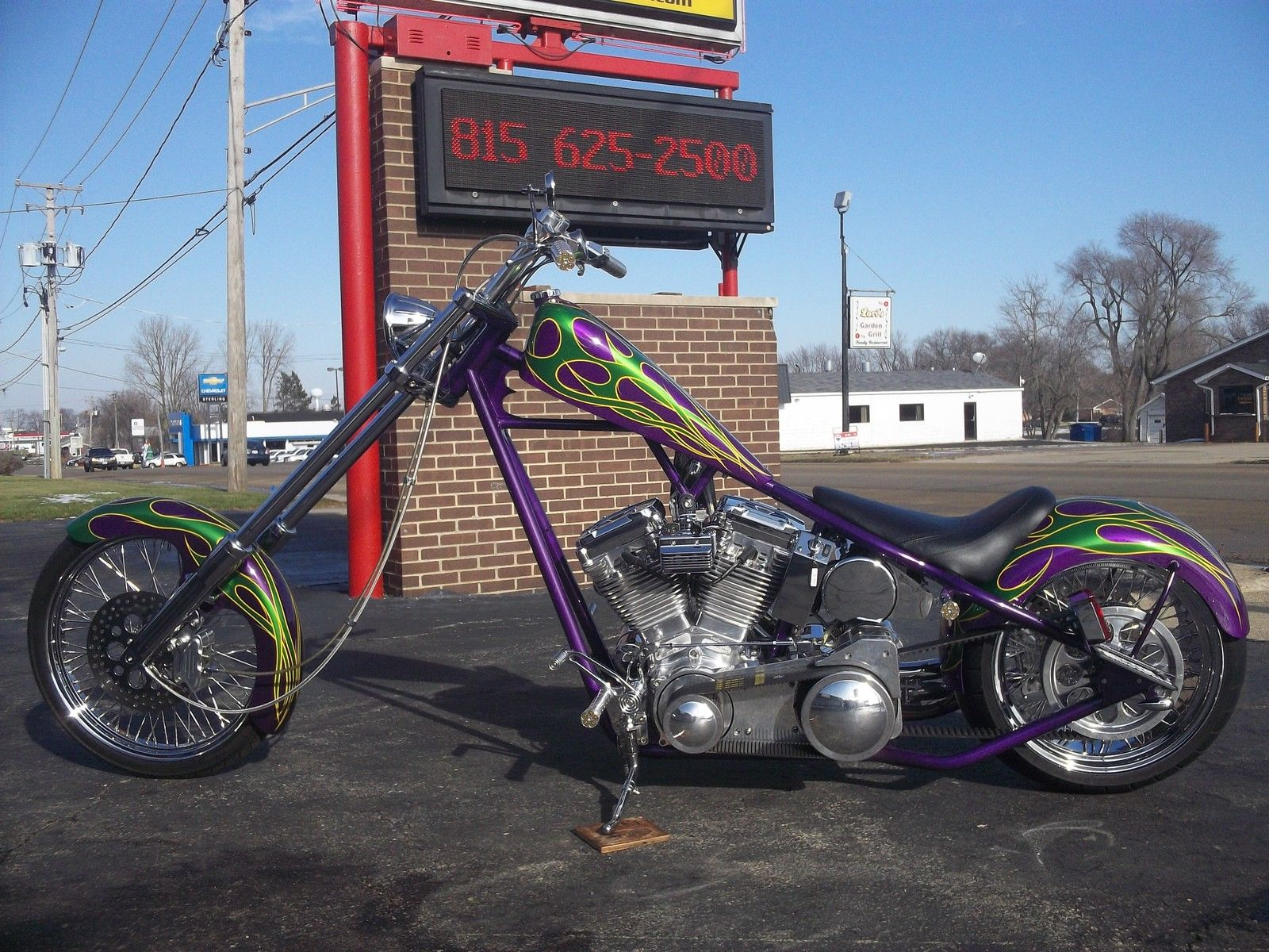 Title Transfer Illinois >> 02 OCC ORANGE COUNTY CHOPPERS T-REX RIGID BUILT BY PAUL ...