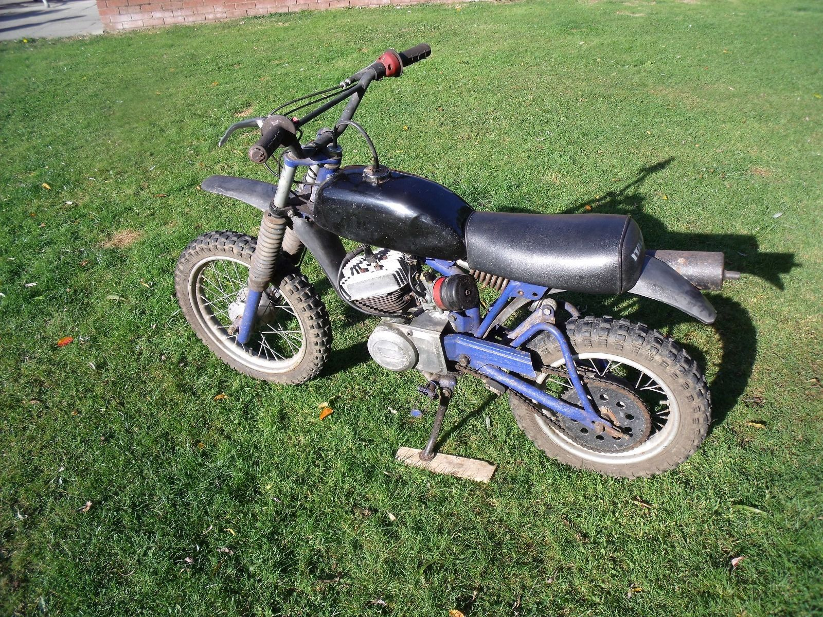 italjet 50cc moto cross bike