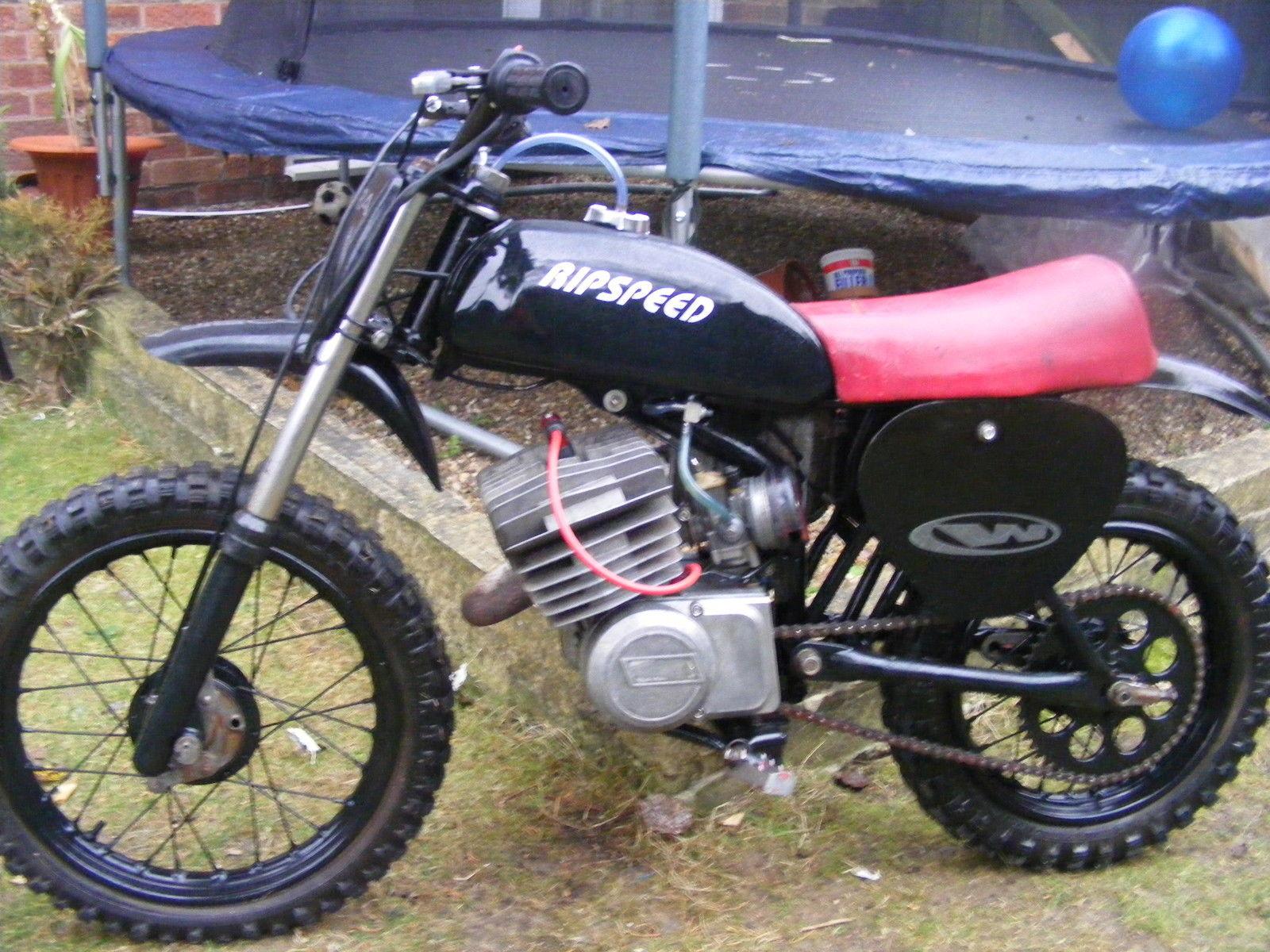 italjet 50cc retro moto cross bike. Black Bedroom Furniture Sets. Home Design Ideas