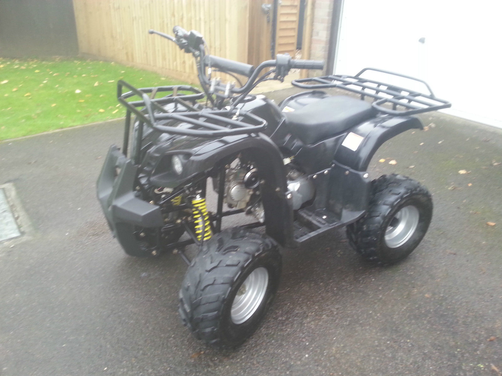 110cc quad mint condition from superbyke bristol fully auto alarm remote  kill
