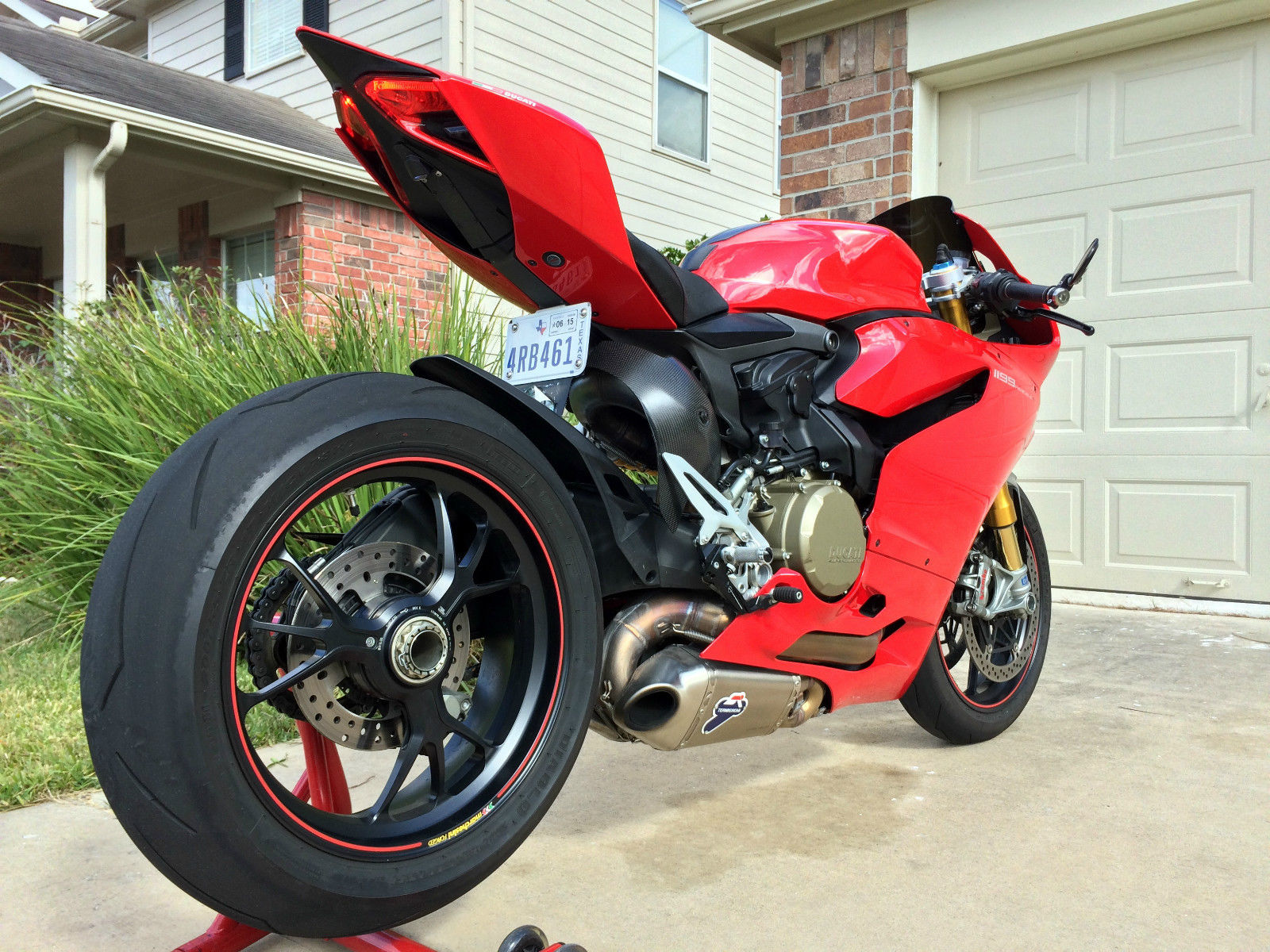 1199s Panigale Abs W Termignoni Full Exhaust