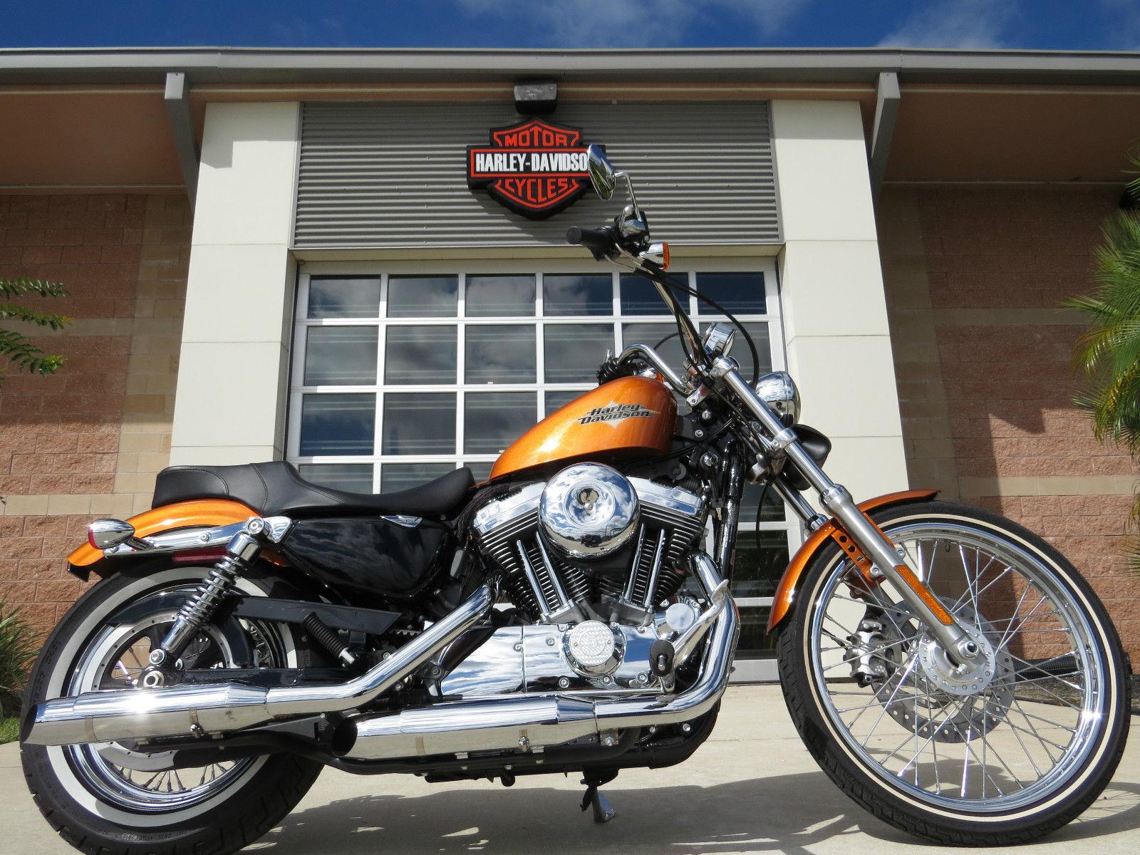 14 XL1200V Sportster 72 Amber Whiskey 1200cc 5 Speed Bobber Chopper Bar Hopper