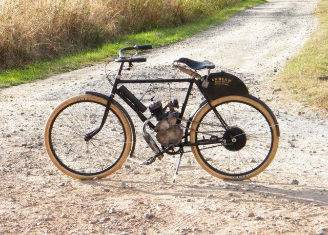 1901 indian camelback motorcycle replica steampunk rat rod bike