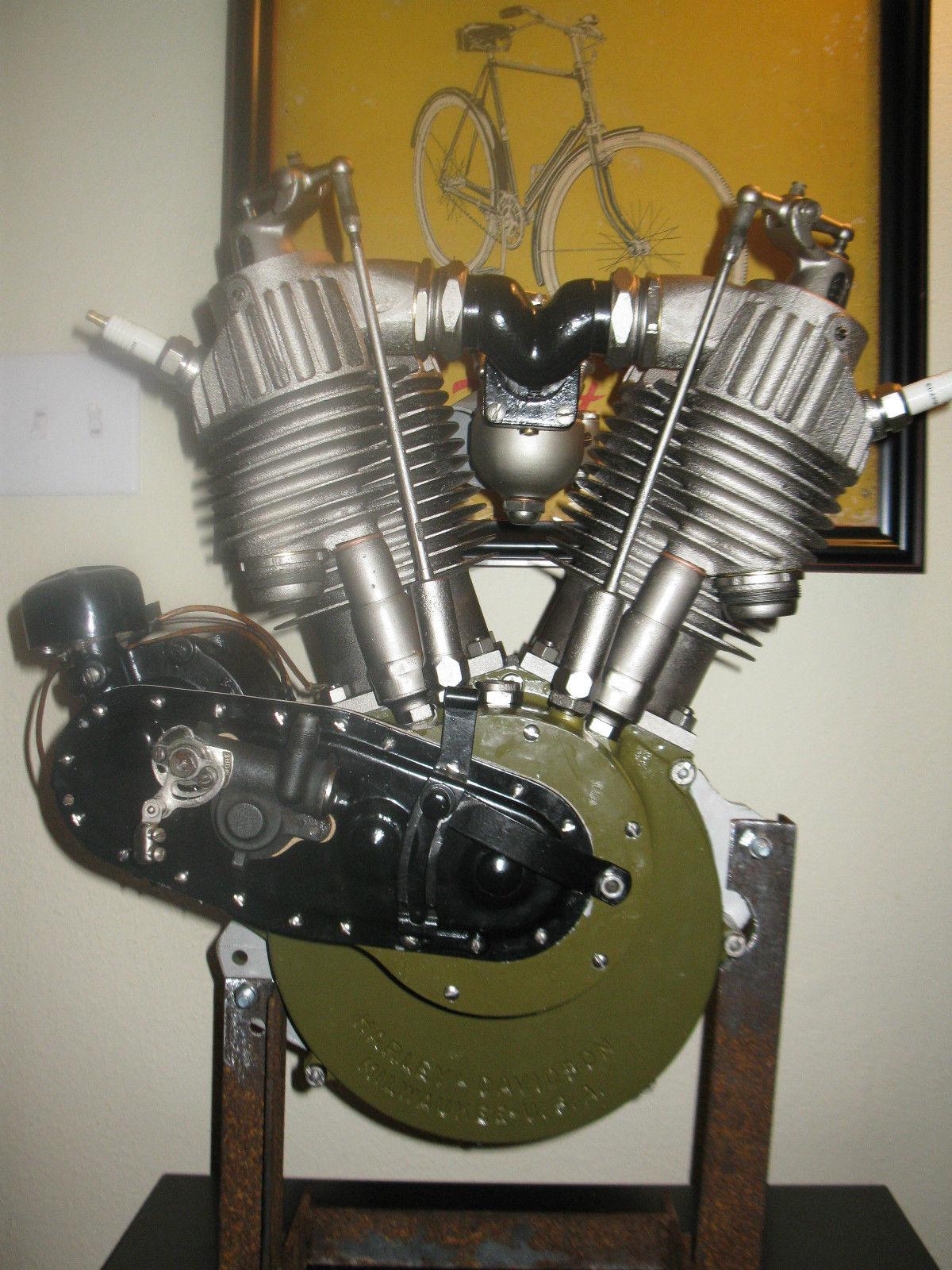 1927 harley davidson j jd engine motor clear title for J and s motors