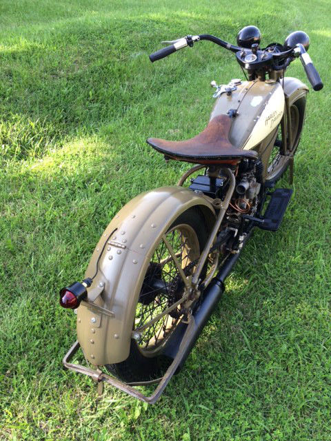 1930 Harley Davidson Model 30c A 30 5ci Single 500cc