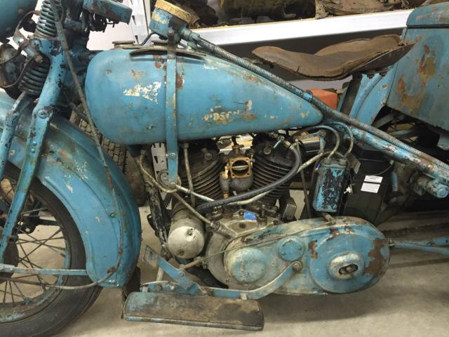 1933 Harley Davidson Motorcycle Servi Car Trike 1934