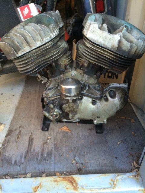 1938 Harley ULH 80 Flathead Motor