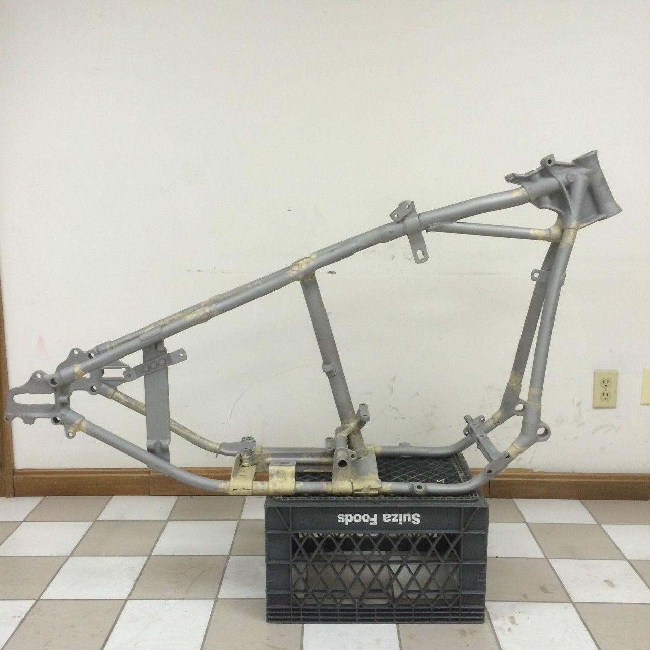 1940-1941 OEM Harley Davidson knucklehead frame *RARE flathead ...