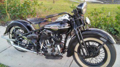 1941 Harley Davidson WL