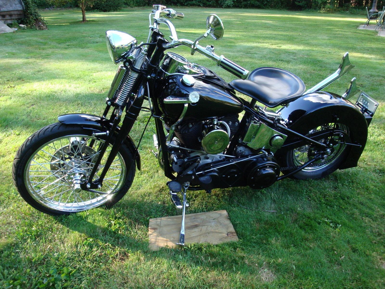 1942 Harley Davidson U 1200 flathead