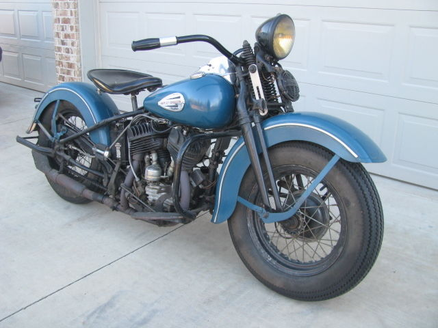 1946 wl harley davidson flathead 45 original unrestored. Black Bedroom Furniture Sets. Home Design Ideas