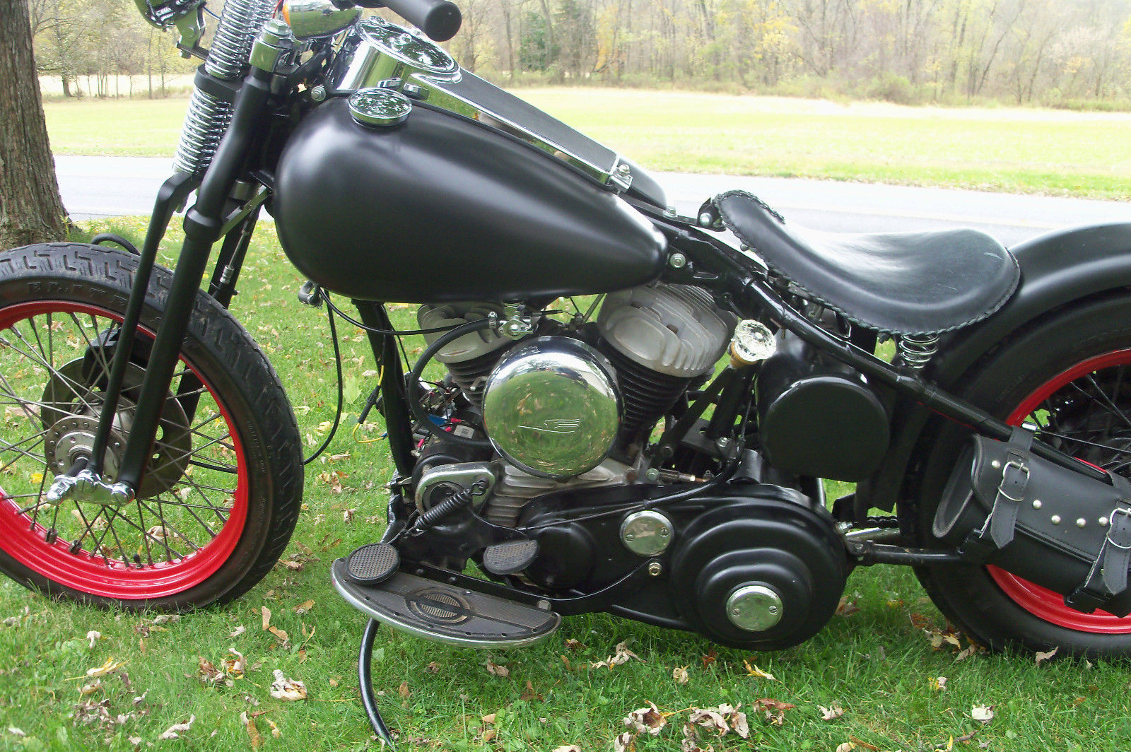 1948 harley davidson wl flathead 45 solo. Black Bedroom Furniture Sets. Home Design Ideas