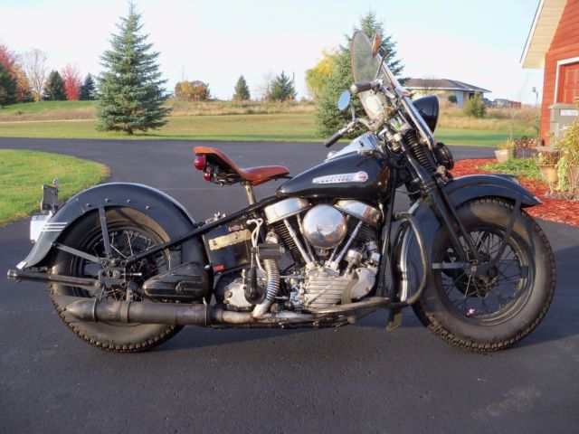 Harley Davidson: 1949 Harley Davidson Panhead Springer