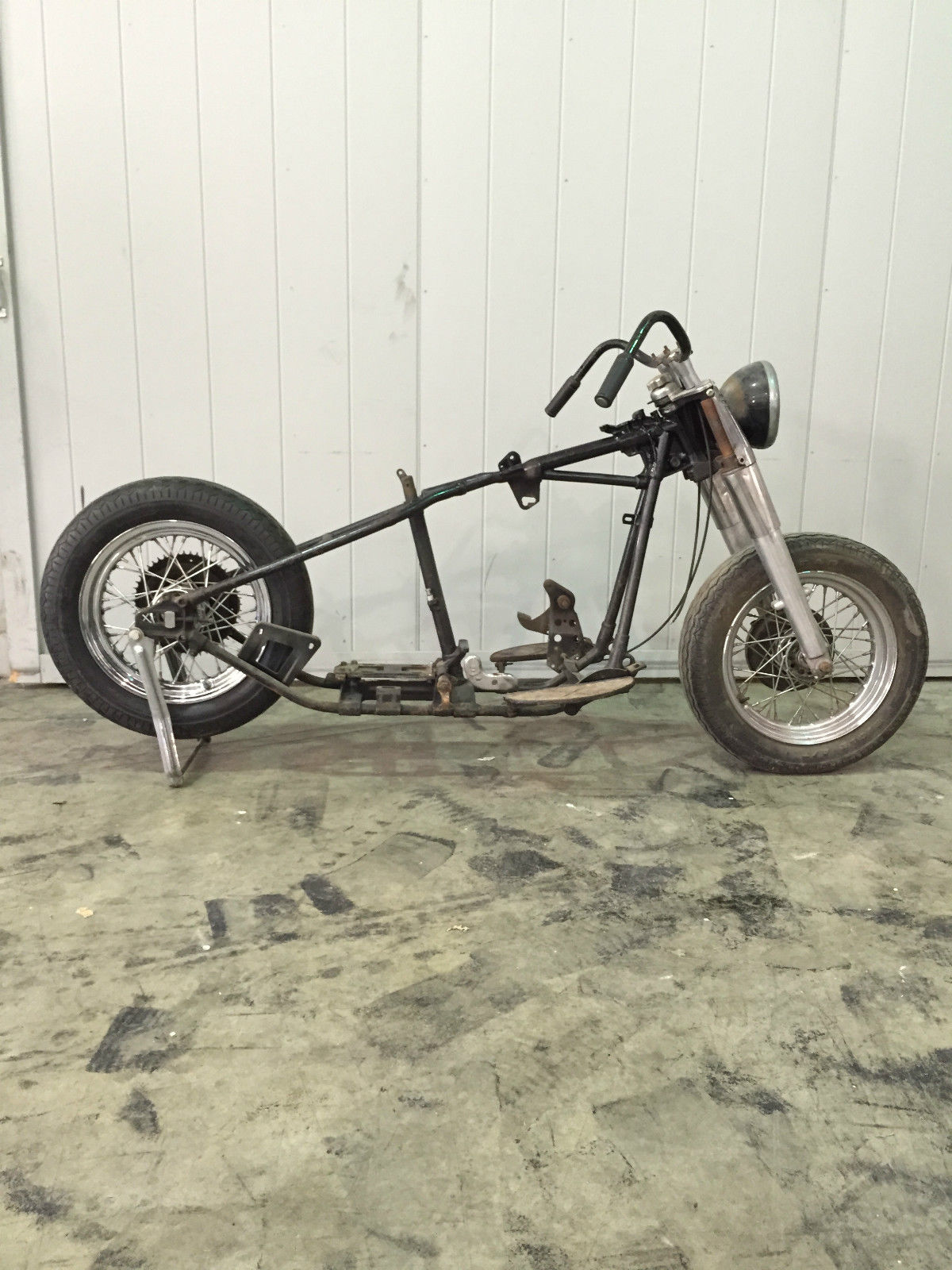 panhead wiring diagram 1954 1955 1956 1957    panhead    rolling chassis original wow     1954 1955 1956 1957    panhead    rolling chassis original wow