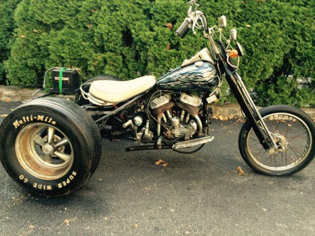 1954 Harley Davidson Servicar Trike