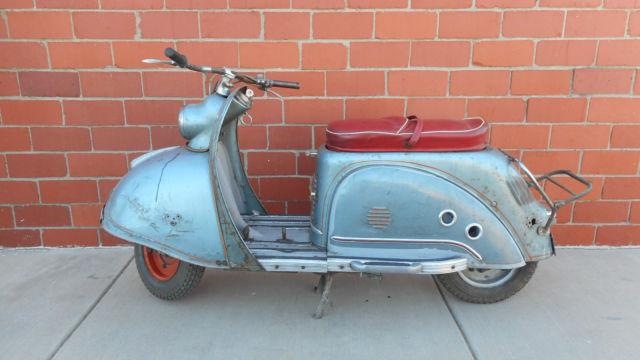 1955 Goggo 200 scooter rare hans glas gmbh running