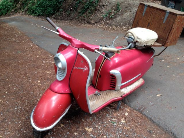 1960 nsu prima lambretta motor scooter nice estate rare for Garage scooter nice