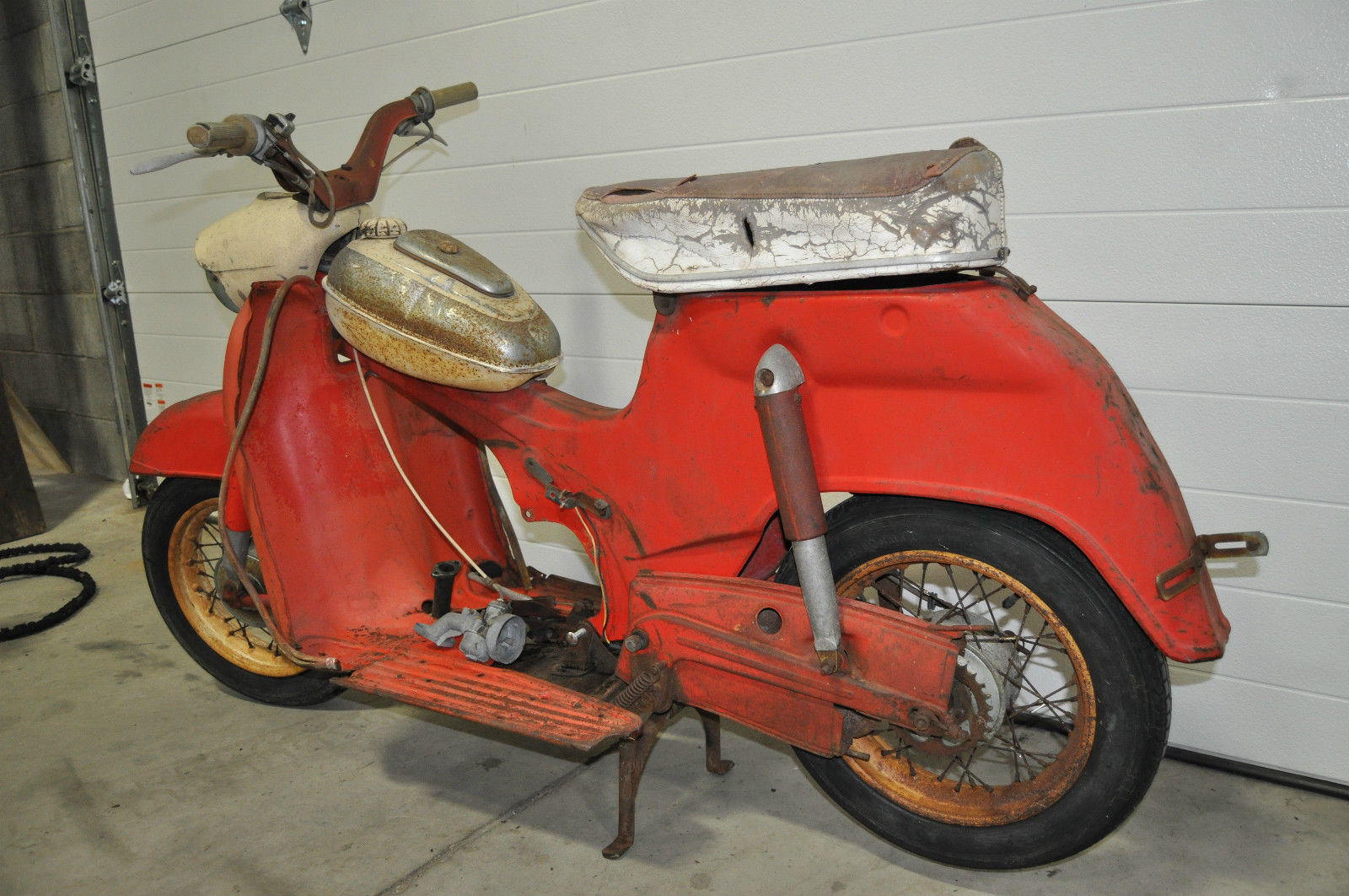 1963 sears allstate puch ds60 ma compact scooter 810 94381 very