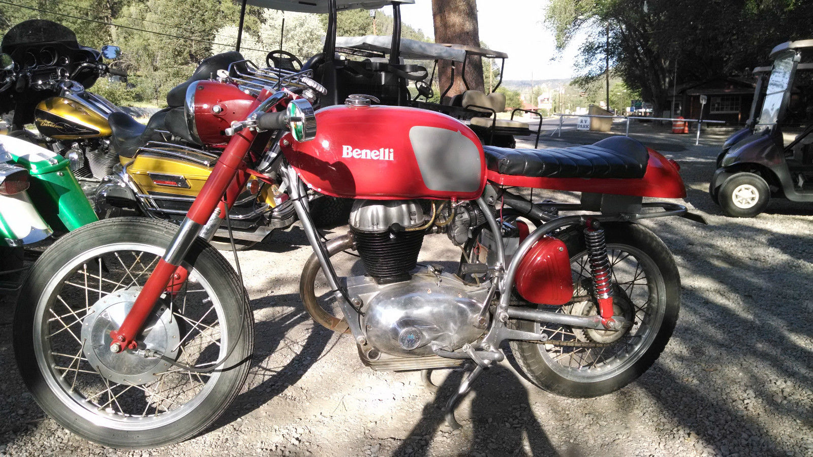 1964 BENELLI WARDS RIVERSIDE 250 CAFE RACER