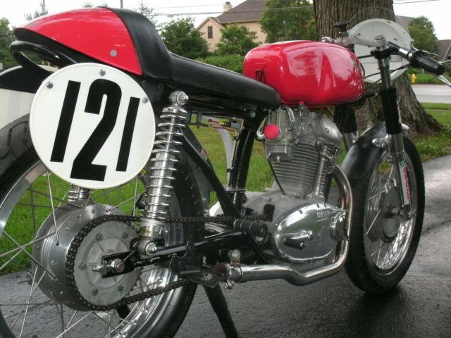 1965 Ducati 250 Scrambler Bevel Head Single AHRMA Vintage Race Bike Cafe Racer